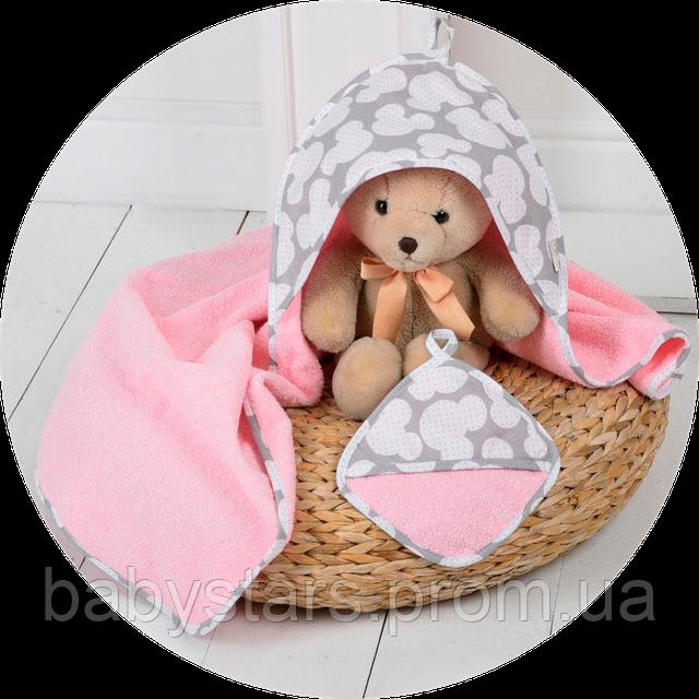 полотенце для новорожденных с капюшоном