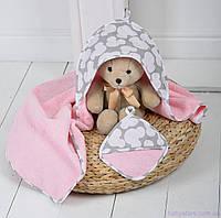 """Полотенце для купания малыша """"Минни"""", фото 1"""