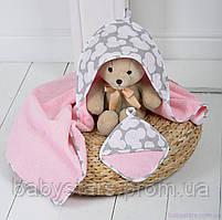 """Полотенце для купания малыша """"Минни"""""""