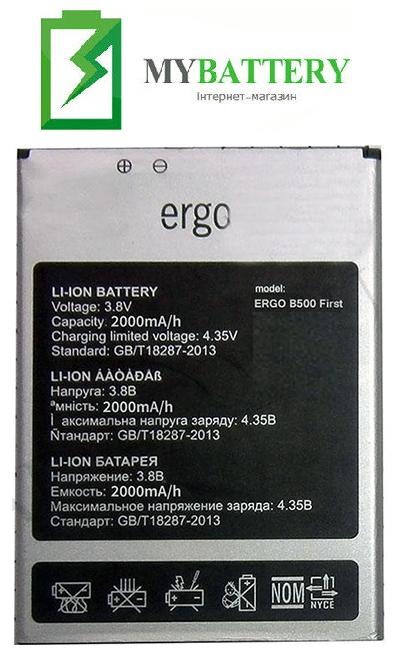 АКБ оригинал Ergo F502 2450mAh 3.8V