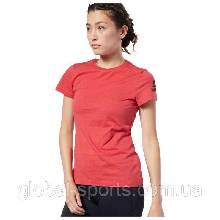 Женская футболка Reebok Workout Ready T-Shirt (Артикул:EH5808)