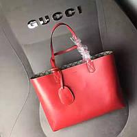 Кожаная сумка GUCCI, фото 1