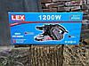 Стрічкова шліфувальна машина LEX BS211: 1200 Вт | Польша, фото 6
