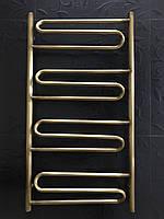 Бронзовый полотенцесушитель 500х950 Волна 4 АЗОЦМ, фото 1