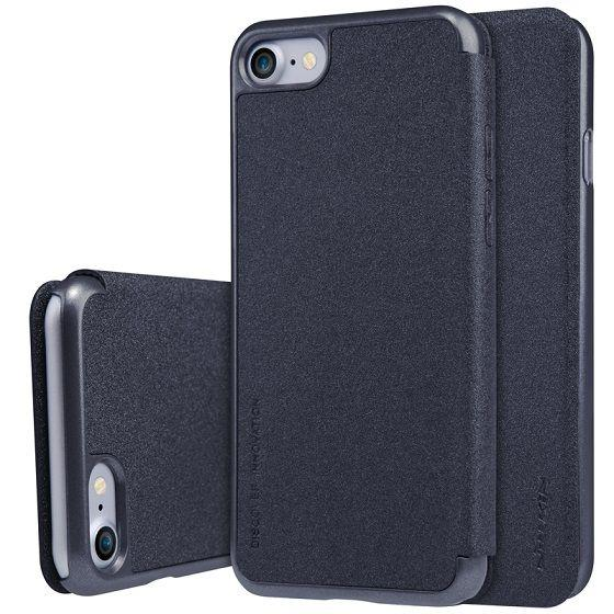 Чехол Nillkin Sparkle Leather Series Apple iPhone 7 Black