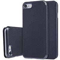 Чехол Nillkin Sparkle Leather Series Apple iPhone 7 Black, фото 1