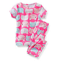 Пижама хб розовая Carters (Картерс) (4Т, 5Т)