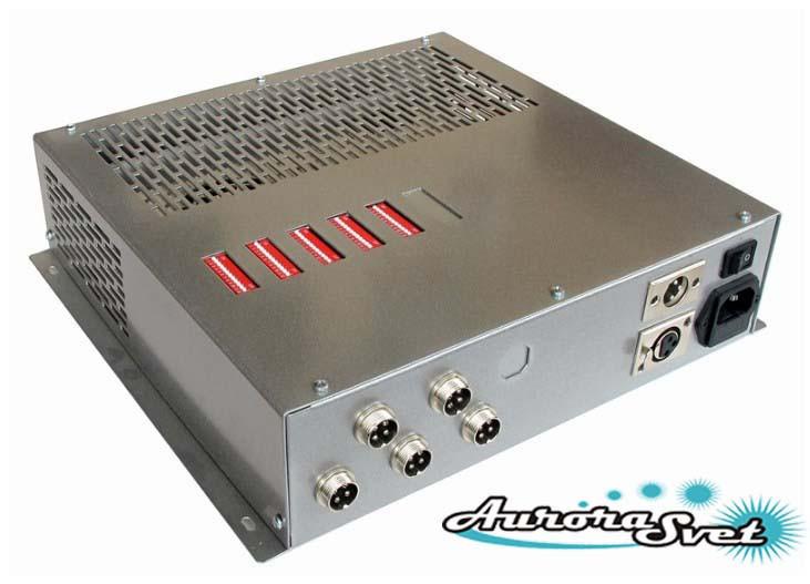 БУС-3-05-200MW блок управления светодиодными светильниками, кол-во драйверов - 5, мощность 200W.
