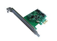 Контроллер Dynamode PCI-E to 2 х SATA III (6 Гбит/сек), 2 внутр. канала, чипсет ASM1061R
