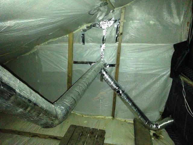 Монтаж гибридной вентиляции (естественной и механической) 18