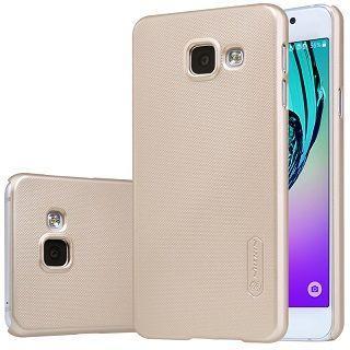 Чехол Nillkin Super Frosted Shield Samsung A320 Galaxy A3 2017 Gold