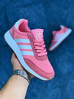 Женские Кроссовки Adidas Iniki Rose (копия), фото 1
