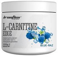 Карнитин IronFlex - L-Carnitine EDGE (200 грамм) blue-raz/голубая малина
