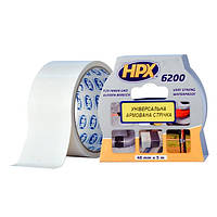 HPX 6200 - армированная ремонтная лента (скотч), белая - 5м