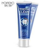 Зубная паста отбеливающая Rorec Toothpaste Fresh Mint Pure White (120г)