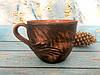 Кофейная чашка из красной глины 180 мл