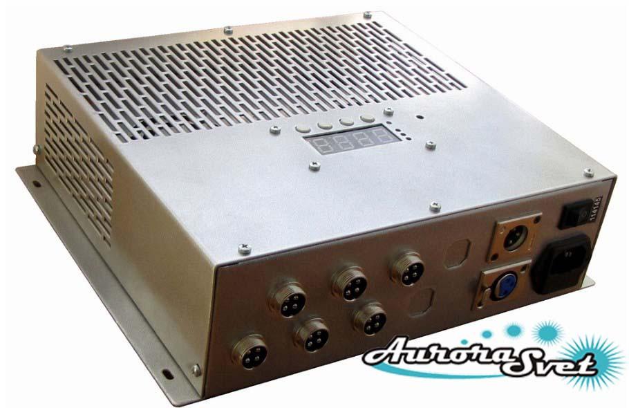 БУС-3-06-150MW-LD блок управления светодиодными светильниками, кол-во драйверов - 6, мощность 150W.
