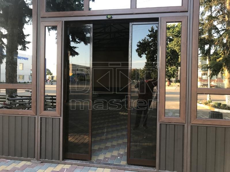 Автоматические двери ERS IMAGE, Кафе Рандеву 21.08.2019 (г. Ильинцы)