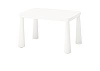 Стол детский IKEA МАММУТ белый