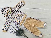 """Детский костюм """"Гном""""(велюр)рост 62-74-80-86-92 см, фото 1"""
