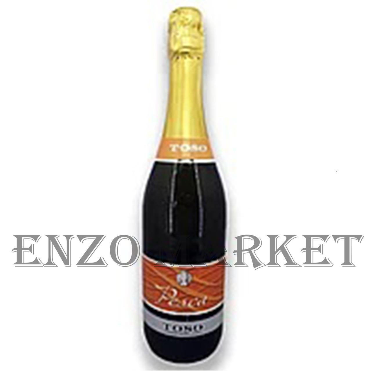 Шампанское Fragolino pesca TOSO, 0,75 литра