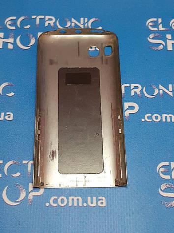 Крышка корпуса металическая  Nokia c3-01 оригинал б.у, фото 2