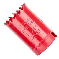 ✅ Коронка по металлу биметаллическая 32 мм INTERTOOL SD-5632