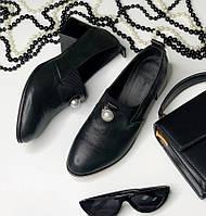 Женские туфли на каблуке, натуральная кожа 36-42р