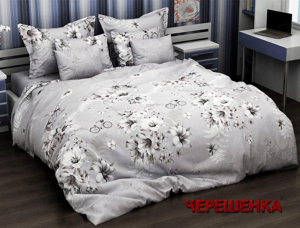 """Семейный набор хлопкового постельного белья из Бязи """"Gold"""" №154020 Черешенка™"""