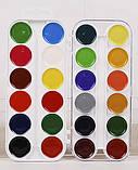 """Краски акварельные медовые """"Africa"""" 24 цвета без кисти, фото 2"""