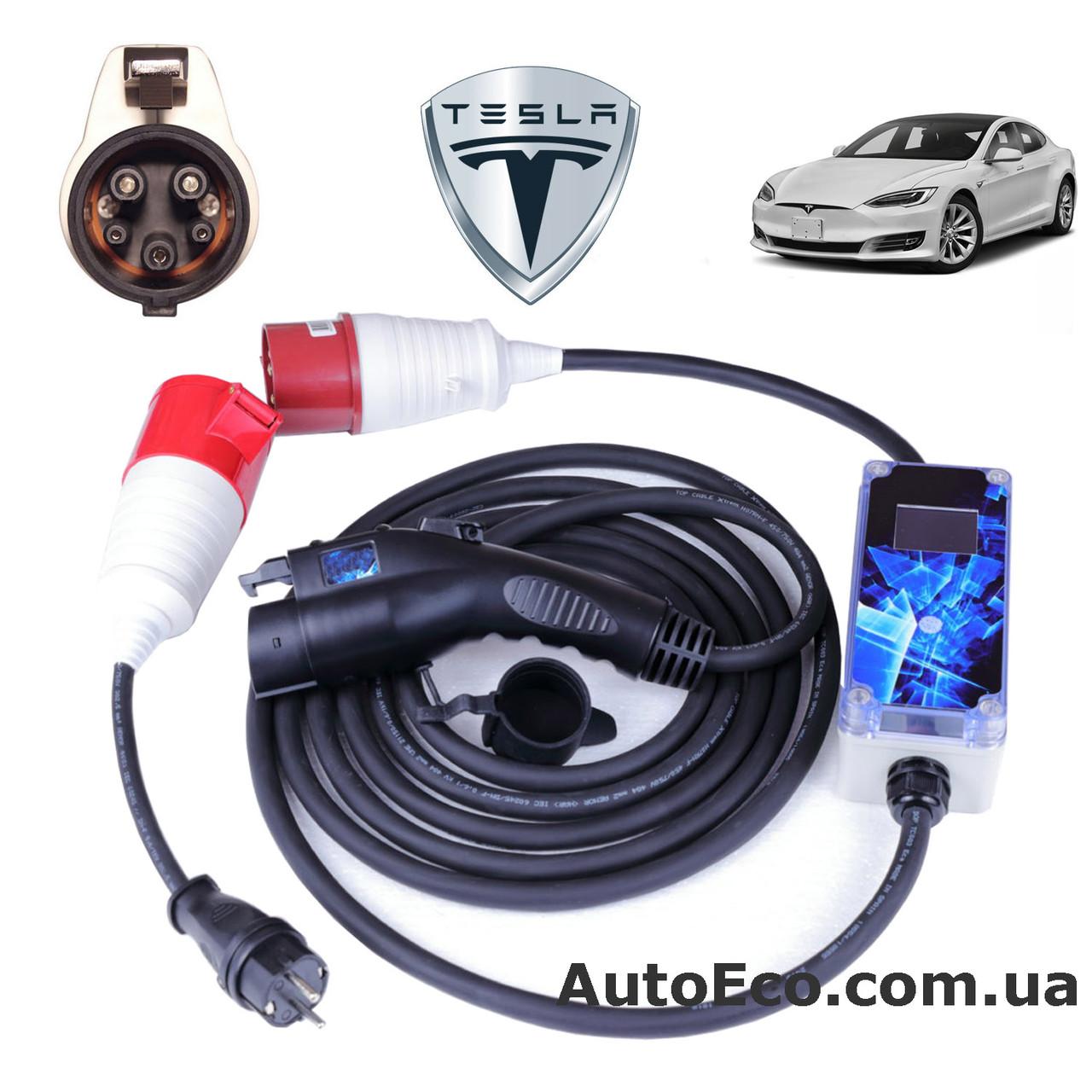 Зарядное устройство для электромобиля Tesla Model S AutoEco J1772-32A-Wi-Fi