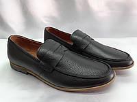 Стильные осенние кожаные мокасины Rondo