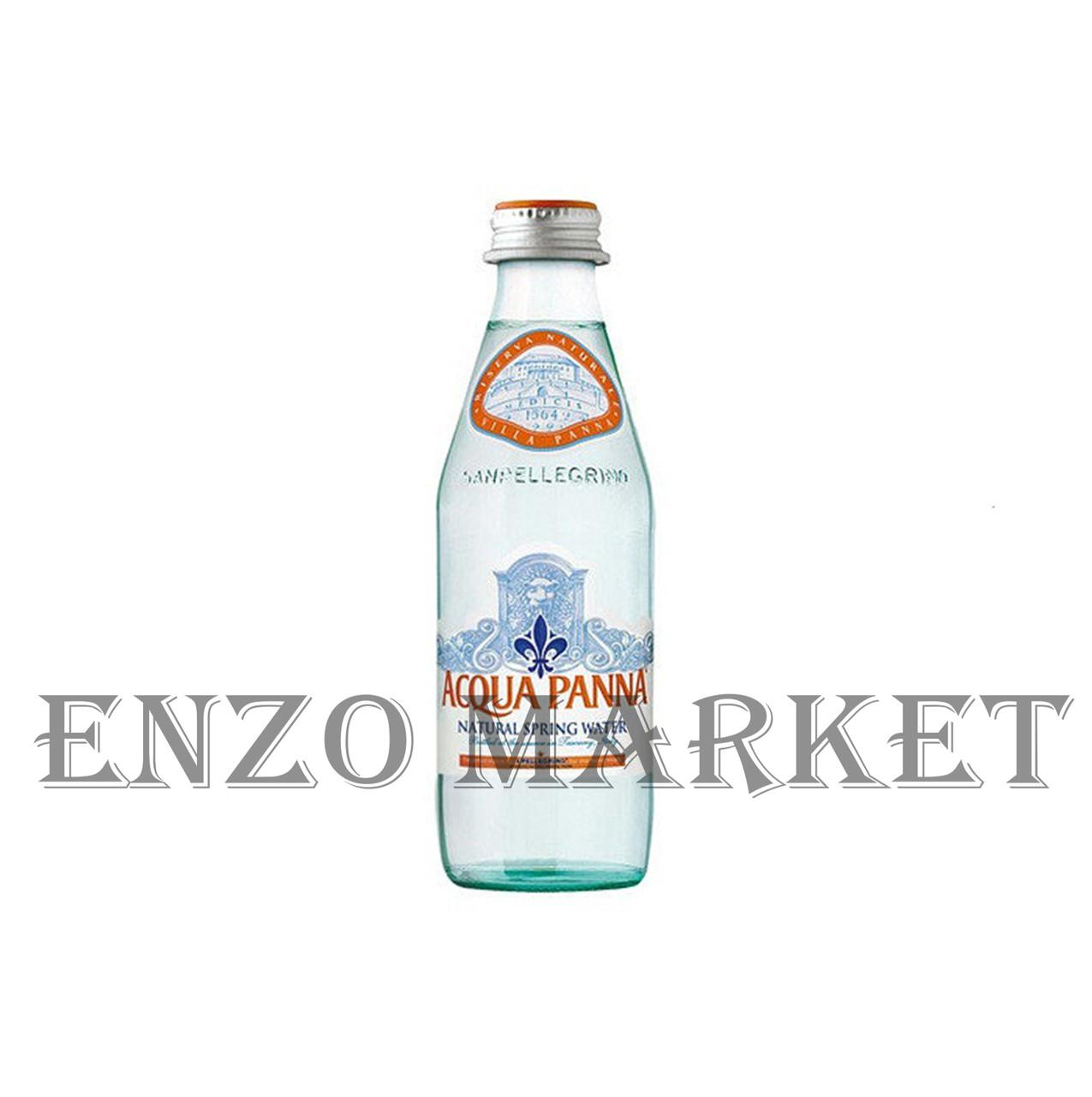 Вода Acqua Panna (Аква Панна), 0,25 литра