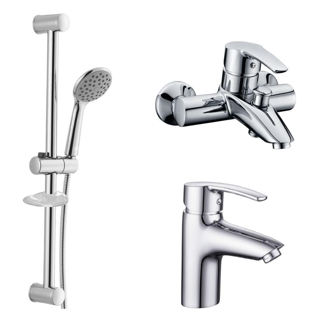 Набір змішувачів Imprese Horak 0510170670 для ванни (3 в 1)