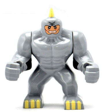 Лего фигурки Lego Marvel Марвел супер-герои мстители Носорог Алексе́й Миха́йлович Сицевич Rhino