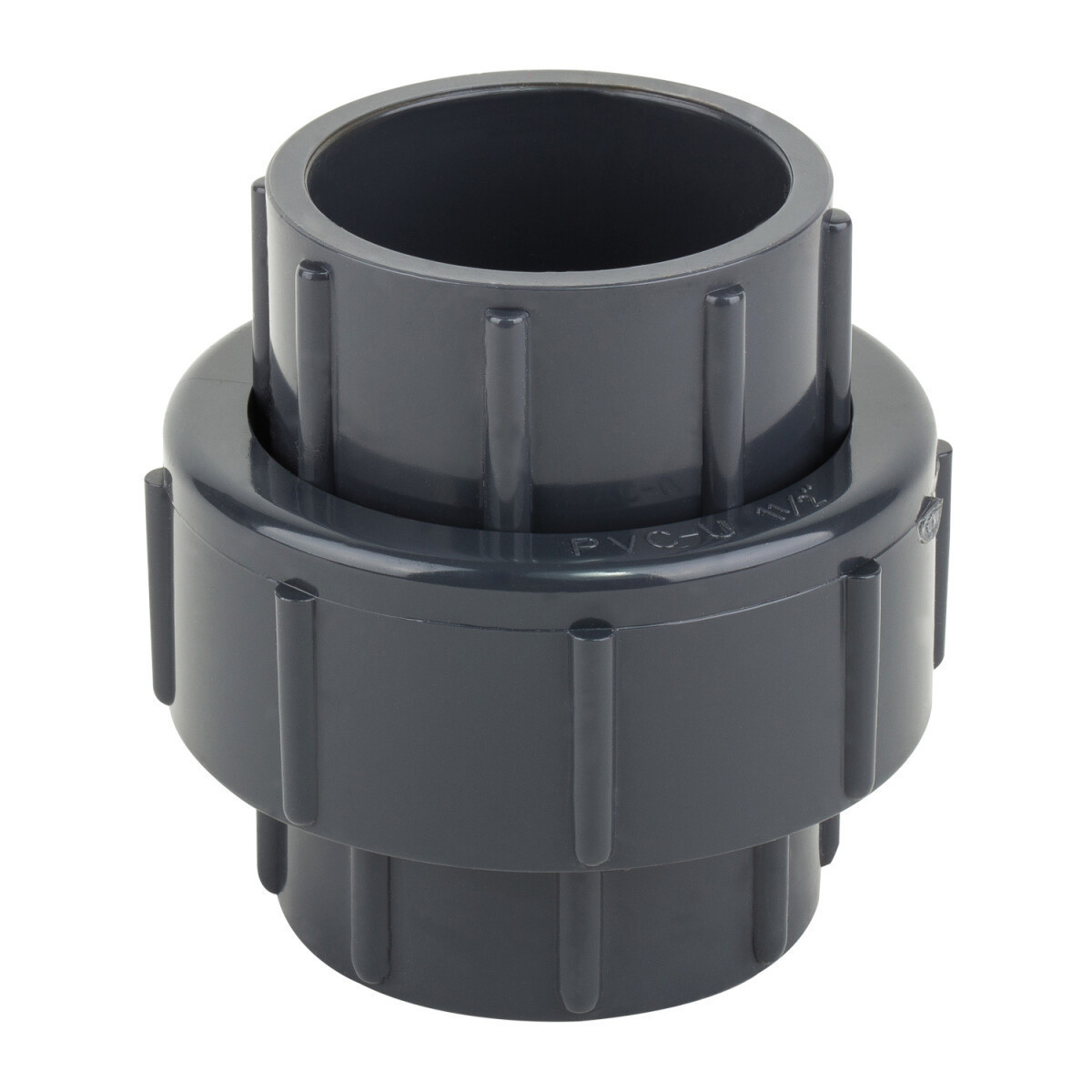 Муфта ПВХ ERA разборная клей-клей 110 мм