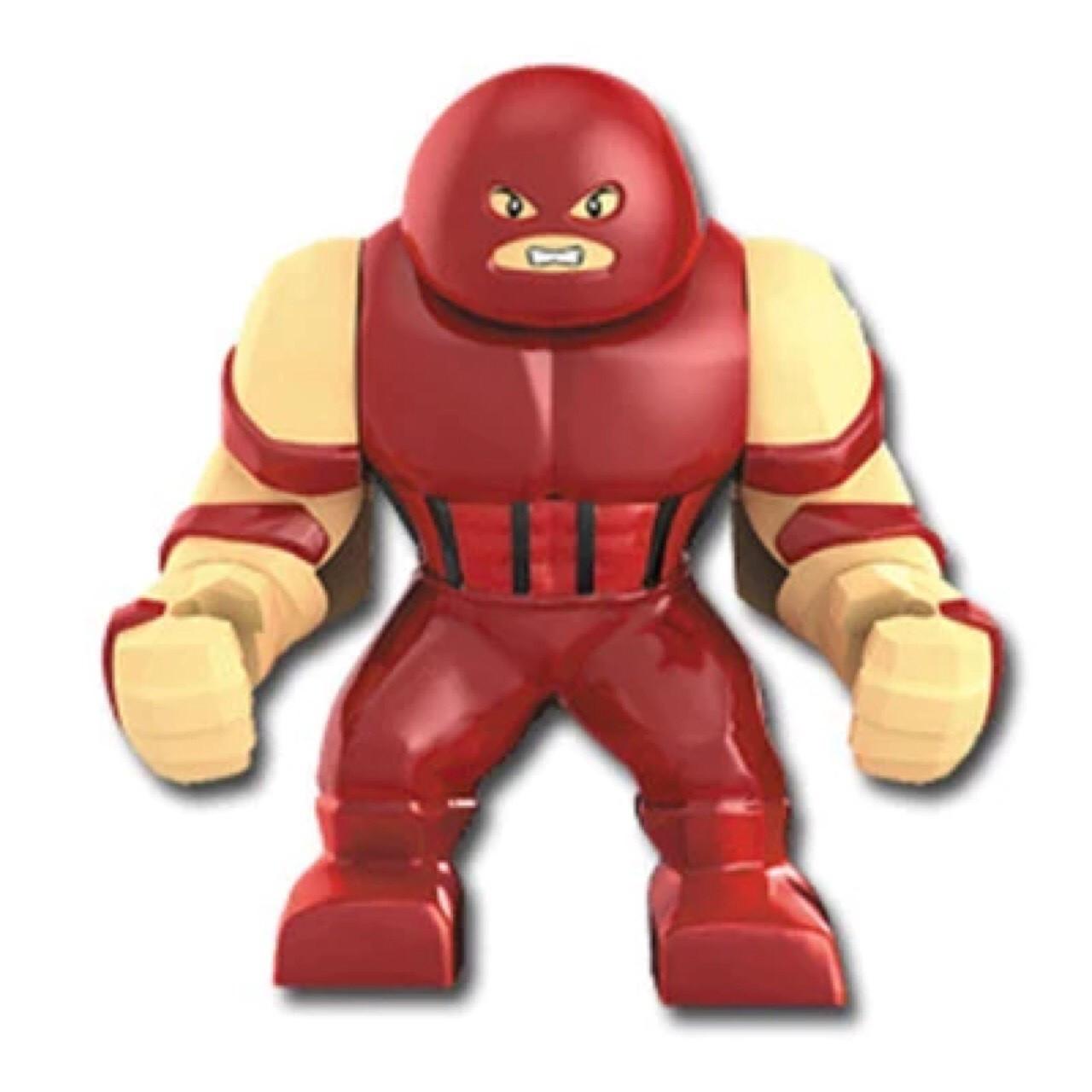 Лего фигурки Lego Marvel Марвел супер-герои мстители Джаггернаут Juggernaut