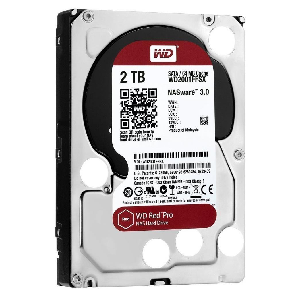 "Жесткий диск Western Digital Red Pro 2"" 2TB (WD2002FFSX)"
