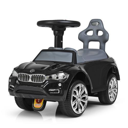 Детская каталка-толокар Bambi BMW 7661-2, черная