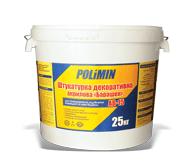 Штукатурка Polimin АК 15 фасадная (акрил) барашек зерно 1,5 мм