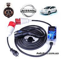 Зарядное устройство для электромобиля Nissan Leaf AutoEco J1772-32A-Wi-Fi, фото 1
