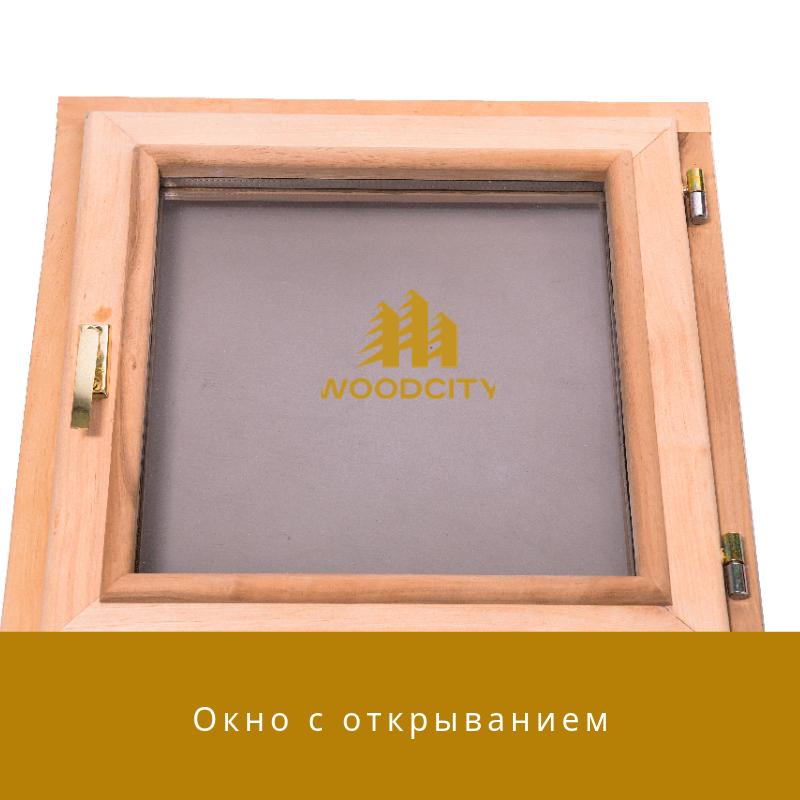 Окно с открыванием стеклопакет