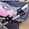 Коляска для куклы. 45-38-59 см. Melogo 65826, фото 4