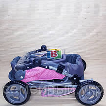 Коляска для куклы. 45-38-59 см. Melogo 65826, фото 2