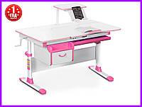 Детский стол Evo-kids стол+ящик+надстройка Evo-40 PN, фото 1