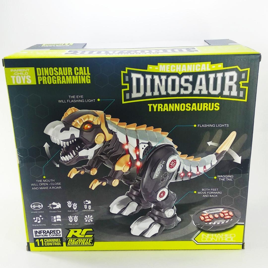 Интерактивный динозавр с функцией программирования - Магазин детских игрушек kidstoys3-16 в Харкові