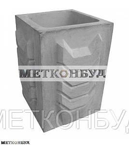 Цветочница бетонная  К-1  (70 кг. 40*40*56)