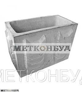 Цветочница бетонная К2 (100 кг. 80х40х56)