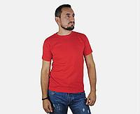 Мужская Футболка Классическая Fruit of the loom Красный 61-036-40 S