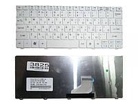 Клавиатура для ноутбука Acer Aspire One 521 522 532 533 D255 D255E 257 D260 Gateway LT21 белая